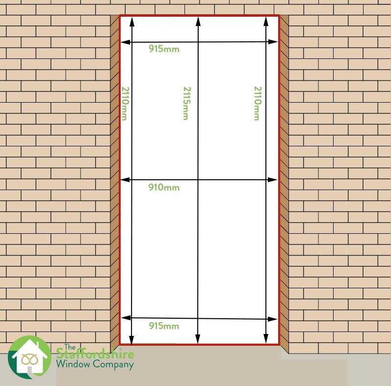 How To measure a uPVC Door