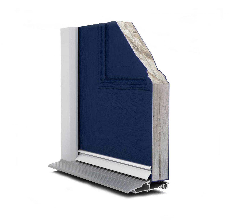 composite door profile